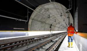 Jernbane Tunnell