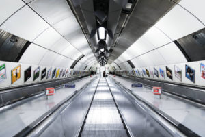 Metro stairs