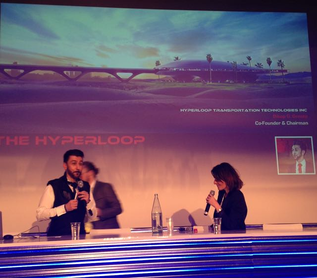 Talking about Hyperloop at Futurapolis