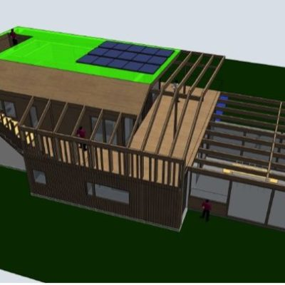 Huset har fått sin endelige utforming