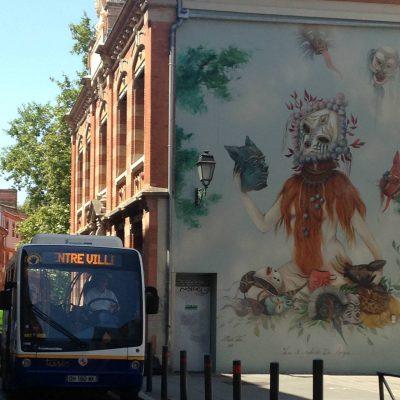 grafitti in Tls